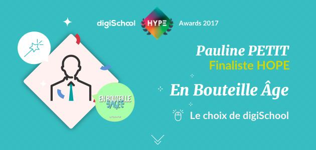 Découvrez Hype Awards et Pauline Petit