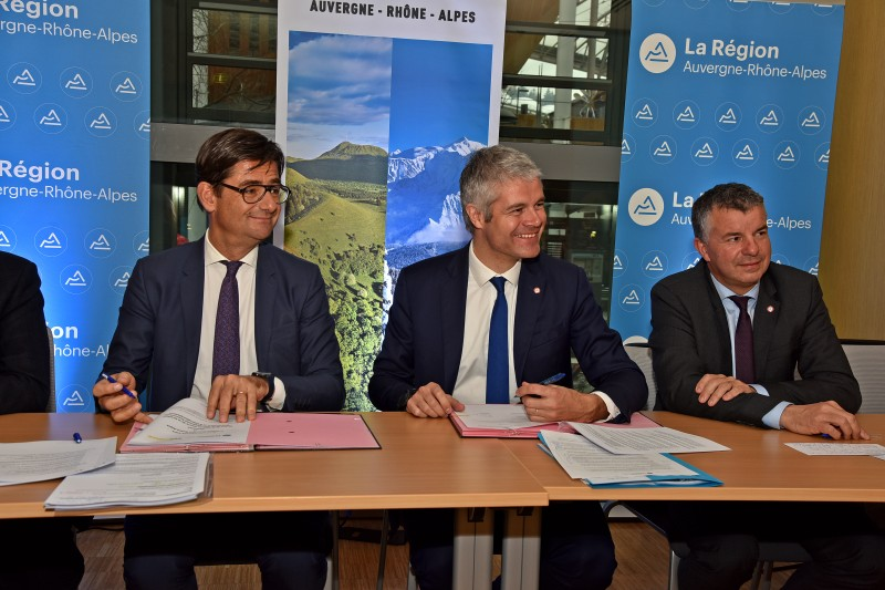 La région Auvergne-Rhône-Alpes renforce l'accompagnement des entreprises