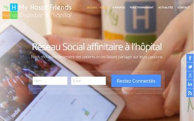 Télécom Santé rachèteMy Hospi Friends : le réseau social hospitalier