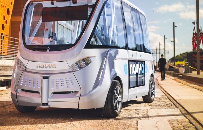 Navya va lancer le tout premier taxi entièrement autonome à Paris